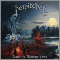 BEWITCHER - Under The Witching Cross (Blue/green merge with green, silver and white splatter Vinyl)