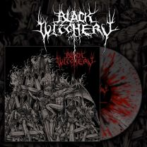 BLACK WITCHERY -  Inferno Of Sacred Destruction (Red / Grey / Black Splatter vinyl)
