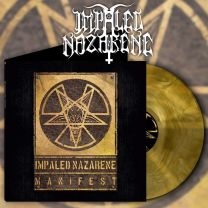 IMPALED NAZARENE - Manifest (Yellow Galaxy Vinyl)