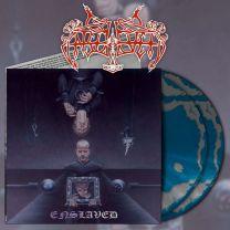 ENSLAVED - Monumension (Silver & Sea Blue Swirl Vinyl)
