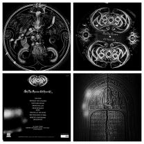 WHITE SNAKE OF BLACKENED MAZE -  By The Rivers Of Heresy (Picture Shape Vinyl)