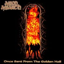 AMON AMARTH - Once sent from the golden hall (Gold Opaque with Black Marble vinyl)