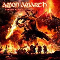 AMON AMARTH - surtur rising (orange vinyl)