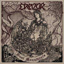ERAZOR -  Dust Monuments (oxblood vinyl)