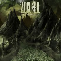 ACCUSER – The Forlorn Divide (Green olive marbled Vinyl)