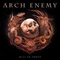ARCH ENEMY ‎– Will to power (Gold Vinyl)