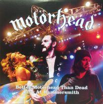 MOTÖRHEAD - Better Motörhead Than Dead - Live At Hammersmith (4 xlp) HOES MET LICHTE SCHADE !!!