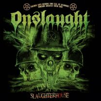 ONSLAUGHT - Live at the Slaughterhouse (red vinyl)