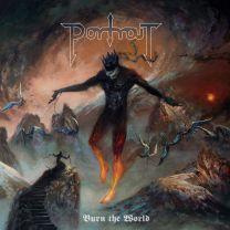 PORTRAIT - Burn The World (Pale Violet Red Marbled vinyl)