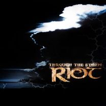 RIOT - Through The Storm ( Blue Night with Grey  Vinyl)