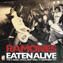 RAMONES - Eaten Alive - 4 Acres, Utica, New York, 14 November 1977 (white vinyl)