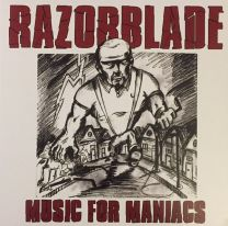 RAZORBLADE - Music For Maniacs (red vinyl)