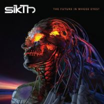 SIKTH - The Future in Whose Eyes?  (Clear With Orange Splatter Vinyl)