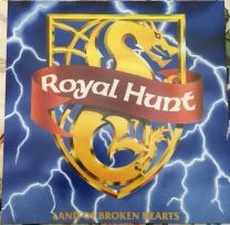 ROYAL HUNT - Land of Broken Hearts (blue vinyl)