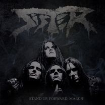 SISTER - Stand Up, Forward, March! (Cool Grey Marbled Vinyl )