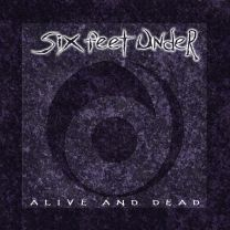SIX FEET UNDER - Alive And Dead (Purple Dark with Blue Marble vinyl)