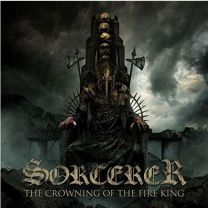 SORCERER - The Crowning Of The Fire King (Golden Sand Marbeled vinyl)