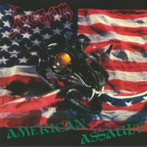 VENOM - American Assault (Red With Blue Splatter vinyl)