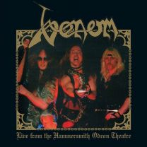VENOM - Live From The Hammersmith Odeon Theatre (red vinyl)