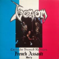 VENOM - French Assault (Blue With Red Splatter Vinyl)