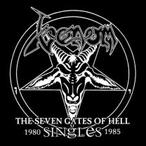 VENOM - The Seven Gates Of Hell: The Singles ( Red Translucent  vinyl)