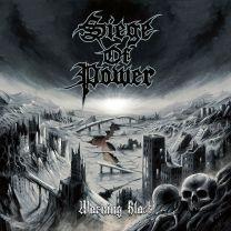 SIEGE OF POWER - Warning Blast (Numbered, cool grey marble Vinyl)