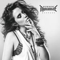 KISSIN' DYNAMITE - Ecstasy (Burgundy Marbled vinyl)