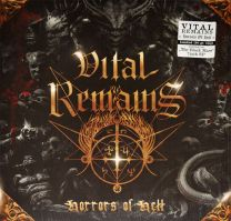 VITAL REMAINS - Horrors Of Hell (gold vinyl)
