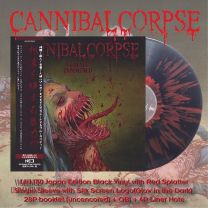 CANNIBAL CORPSE - Violence Unimagined (Black Vinyl + Red Splatter)