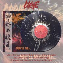 GRAVE - You'll Never See... ( Black Vinyl + Silver Splatter Vinyl)