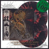 CATTLE DECAPITATION - Death Atlas (Black Vinyl+Red Splatter)
