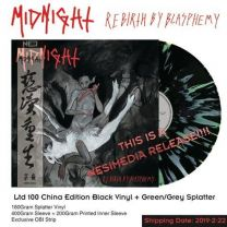 MIDNIGHT - Rebirth By Blasphemy (Splatter Vinyl Ltd 100 China Edition)