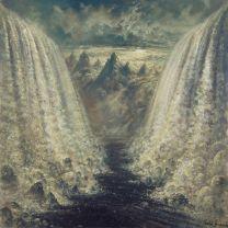 FORGOTTEN TOMB - Nihilistic Estrangement (Aqua Blue With Kelly Green Splatters Vinyl)