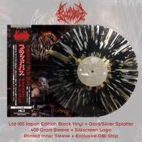 BLOODBATH - Nightmares Made Flesh  (Black Vinyl + Gold/Silver Splatter)