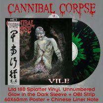 CANNIBAL CORPSE - Vile (Black Vinyl + Green Splatter)