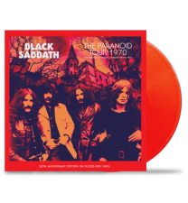 BLACK SABBATH -  The Paranoid Tour 1970 (Red Vinyl)