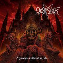 DESASTER - Churches Without Saints (Gold blackdust vinyl)