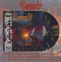 ENSIFERUM - Thalassic (Black With Blue & Orange Splatter Vinyl) china