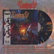 ENSIFERUM - Thalassic (Black With Blue & Orange Splatter Vinyl) china