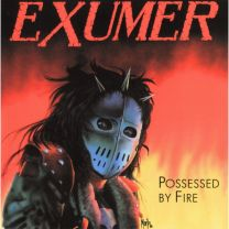 EXUMER - Possessed By Fire ( Transparent Electric Blue Vinyl)