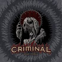 CRIMINAL‎– fear itself (Wine Red Marbled Vinyl)