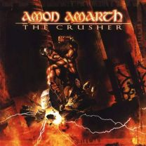 AMON AMARTH - the crusher ( Orange Brown Marbled vinyl)
