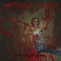 CANNIBAL CORPSE - Red Before Black (Blue Jeans Marble vinyl)