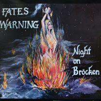 FATES WARNING - Night On Bröcken (night grey marbled vinyl )