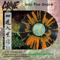 GRAVE -  Into The Grave (Black Vinyl + Orange Splatter)