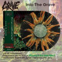GRAVE - Into The Grave (Black Vinyl + Green/Orange Splatter)