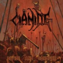 CIANIDE - Divide And Conquer (3 × Vinyl,Orange w/Brown Splatter)