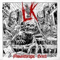 LIK - Misanthropic Breed (red white melt vinyl)
