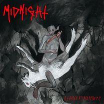 MIDNIGHT - Rebirth By Blasphemy (Bloody Skin Marbled vinyl)