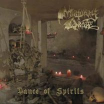 MORTUARY DRAPE/NECROMASS - Dance of Spirits / Ordo Equilibrium Nox (Red Vinyl)